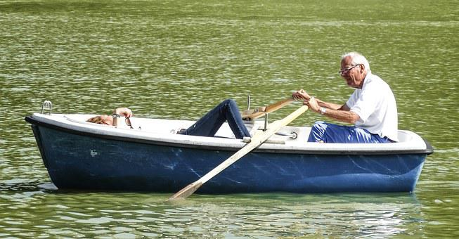 Barca Couple Soledad Wholesale Pond Rowing