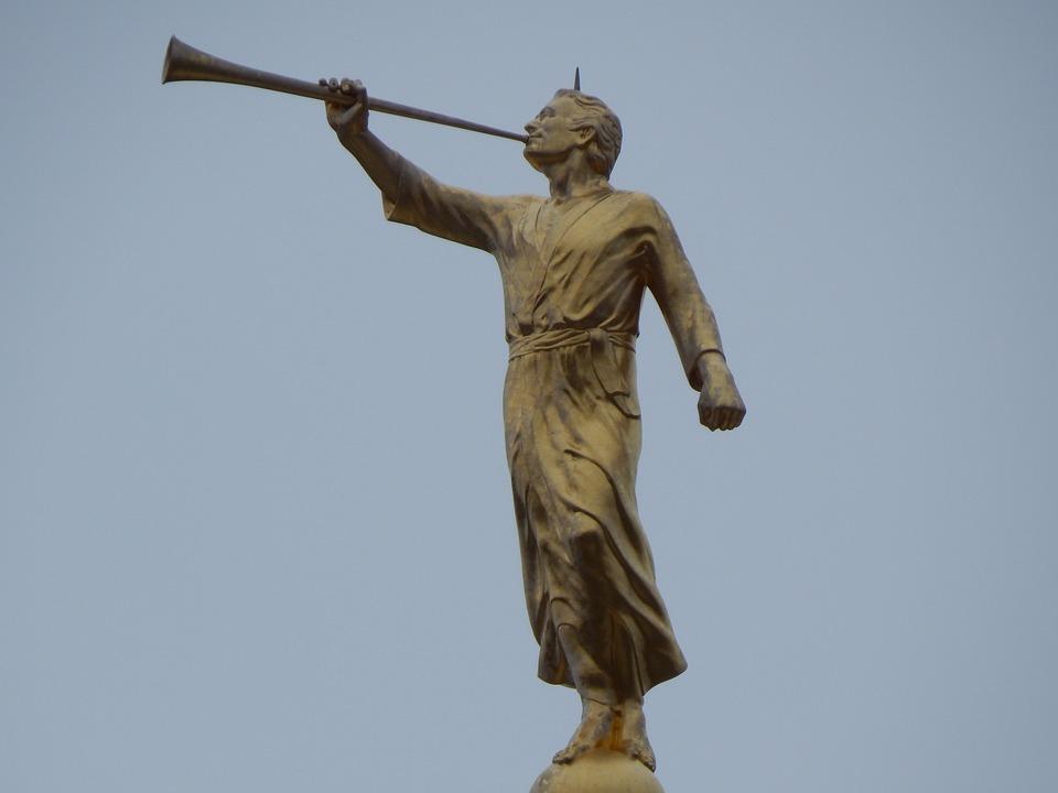 Angel Statue Moroni Free Photo On Pixabay