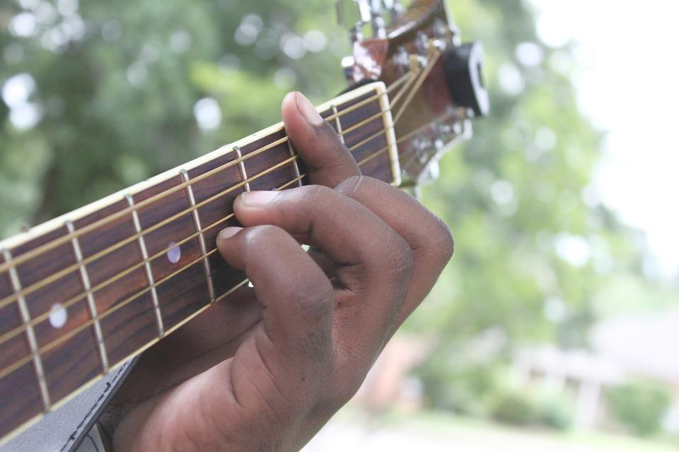Acoustic Guitar Instrument Chords Free Photo On Pixabay