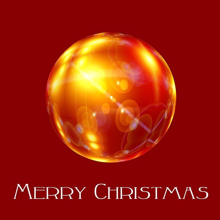 bola navidad rojo adorno de navidad la luz