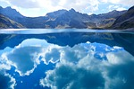 clouds, mirroring