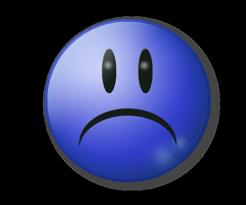 Sad, Unhappy, Sadness, Sad Face, Blue, Sad Smile