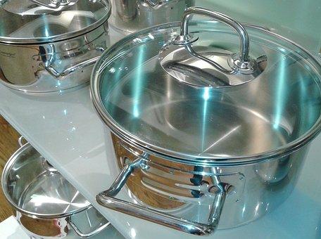 調理鍋, ポット, ボイラー, 鍋を沸騰, 調理する, 調理器具、キッチン用品