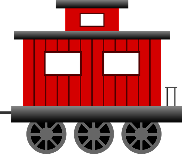 Free vector graphic: Caboose, Train, Transportation - Free Image on ...