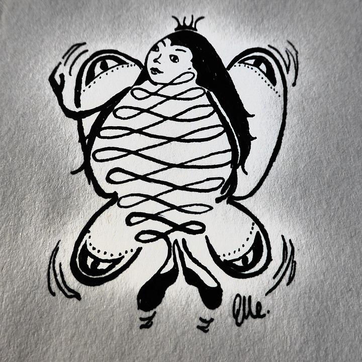 Hand Drawn Sketsa Kupu Biaya Foto Gratis Di Pixabay