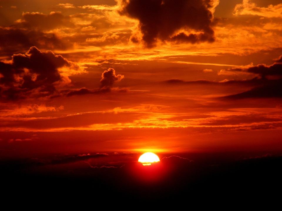 Sunset Sky Sun · Free Photo On Pixabay