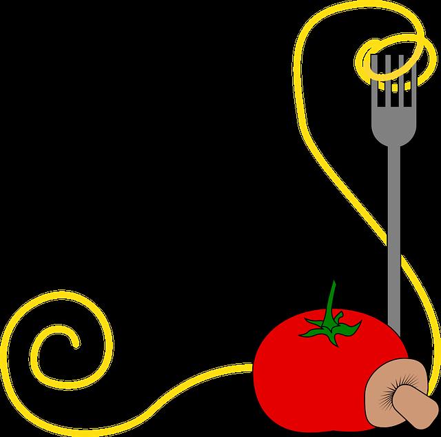 free vector graphic spaghetti pasta food italian