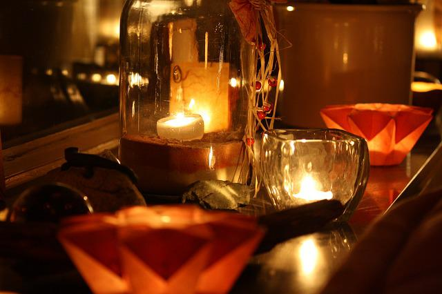 Free Photo Lights Candles Advent Free Image On