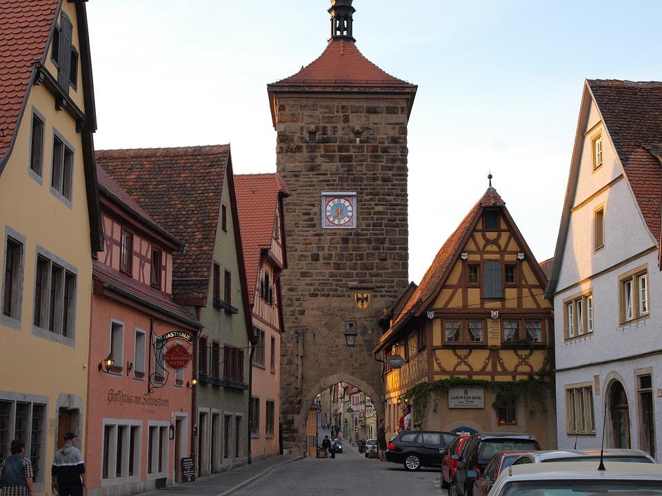 rothenburg of the deaf 481374 960 720 » 10 wunderschöne Reiseziele für ihren Urlaub in Deutschland