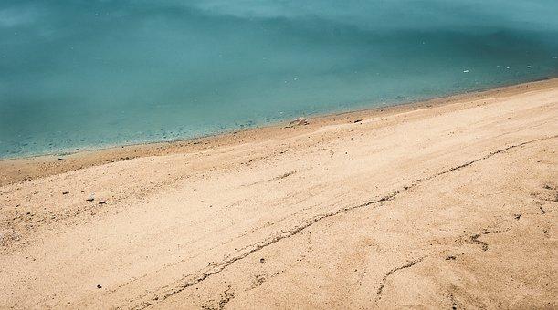 Beach, Sand, Water, Sand Beach, Sea