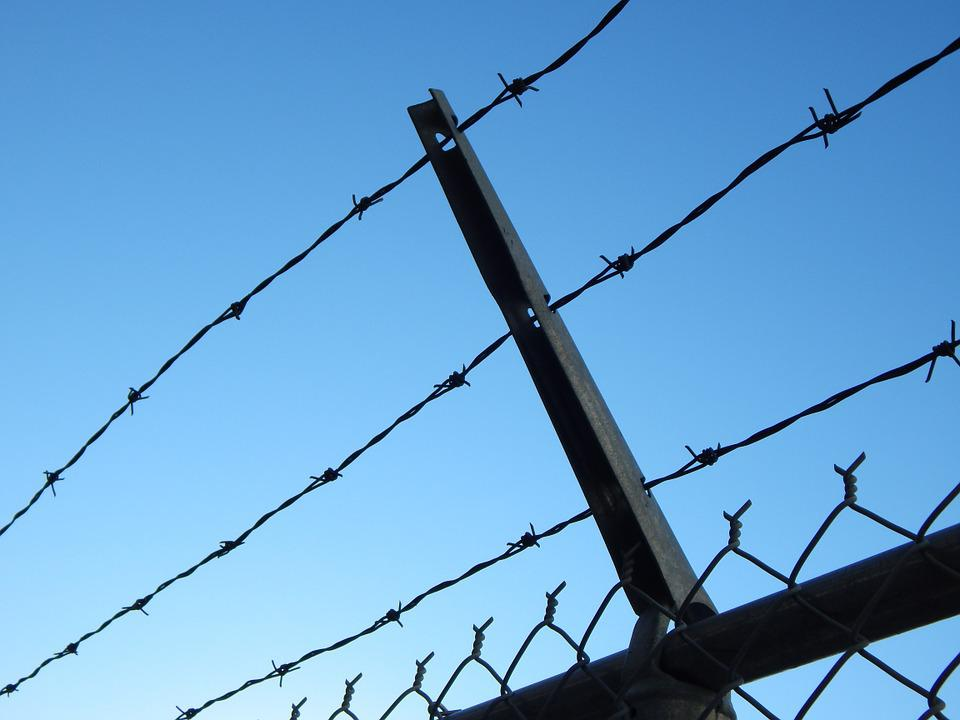 Barbed Wire Prison Chain Link · Free photo on Pixabay