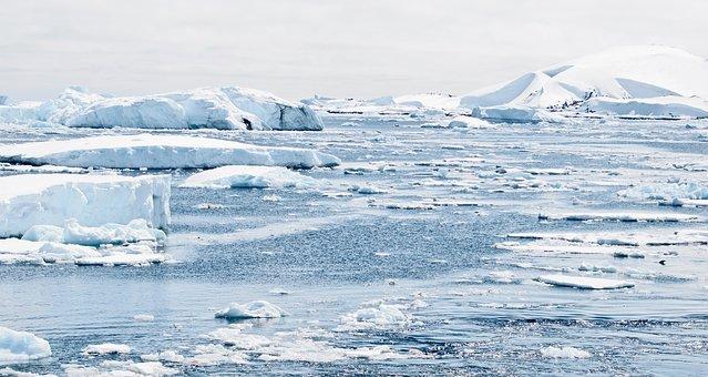 Antarctica, Ice, Caps, Mountains
