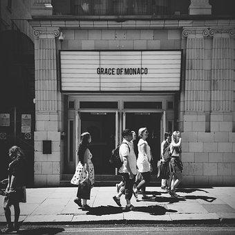 Cinema Old Vintage London Film Strangers S