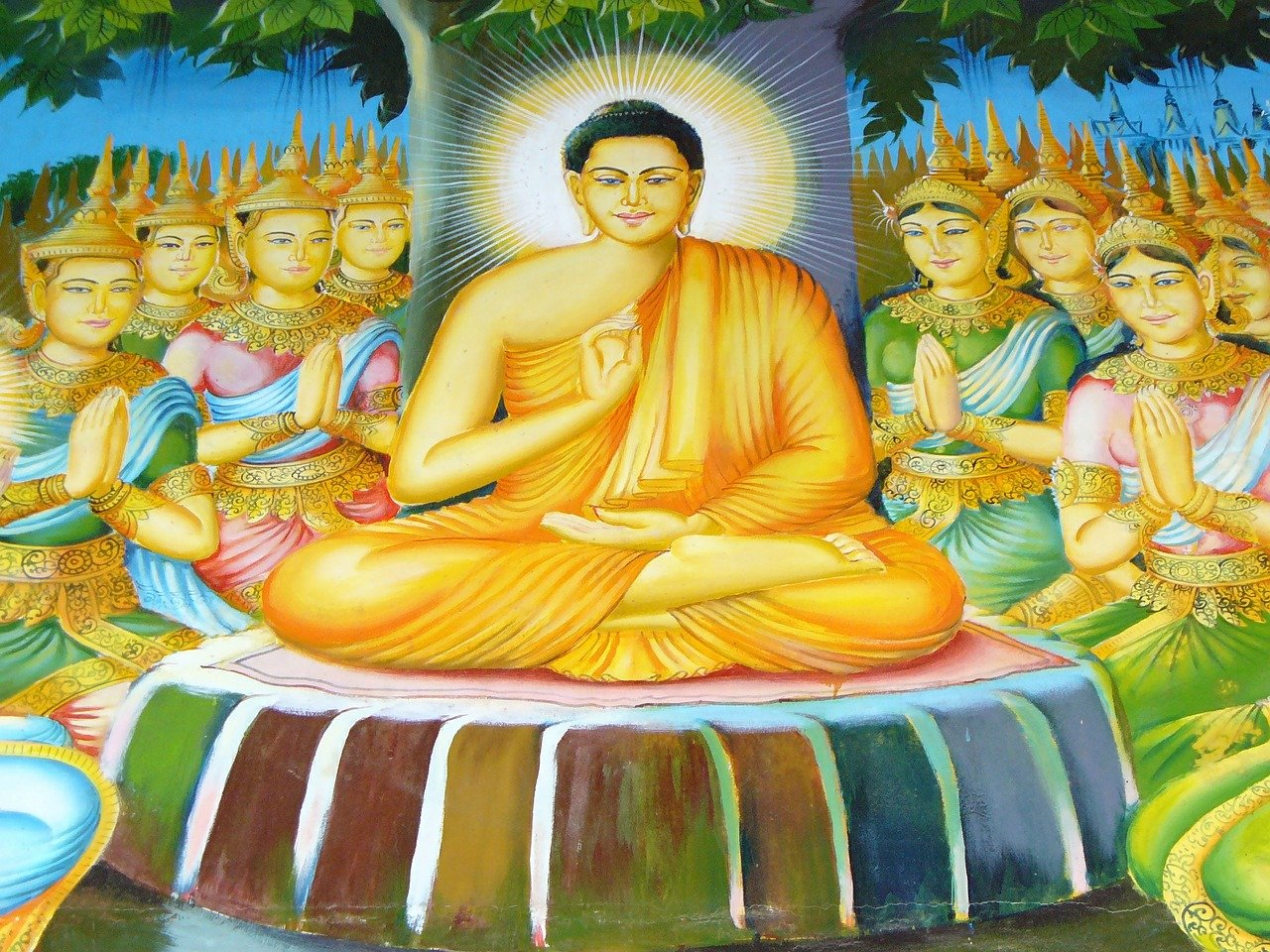 buddhism kisogotami Kisa gotami was the wife of a wealthy man of savatthi her story is one of the more famous ones in buddhism  after losing her only child, kisa gotami became desperate and asked if anyone could help her.