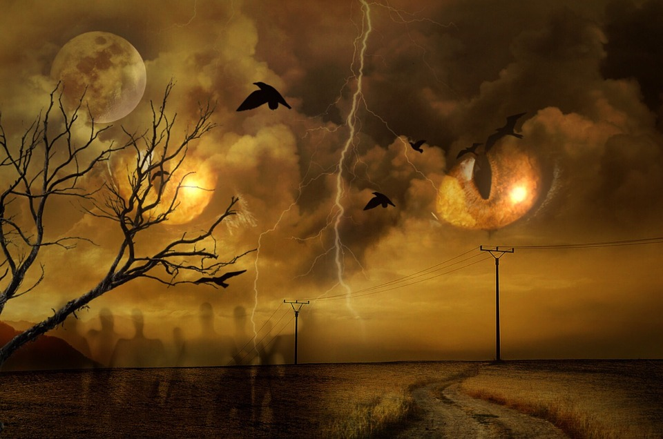 Apocalypse, Clouds, End Time, Atmospheric, Mystical
