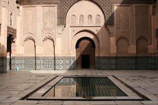Maroko, Tempat-Tempat Menarik, Courtyard