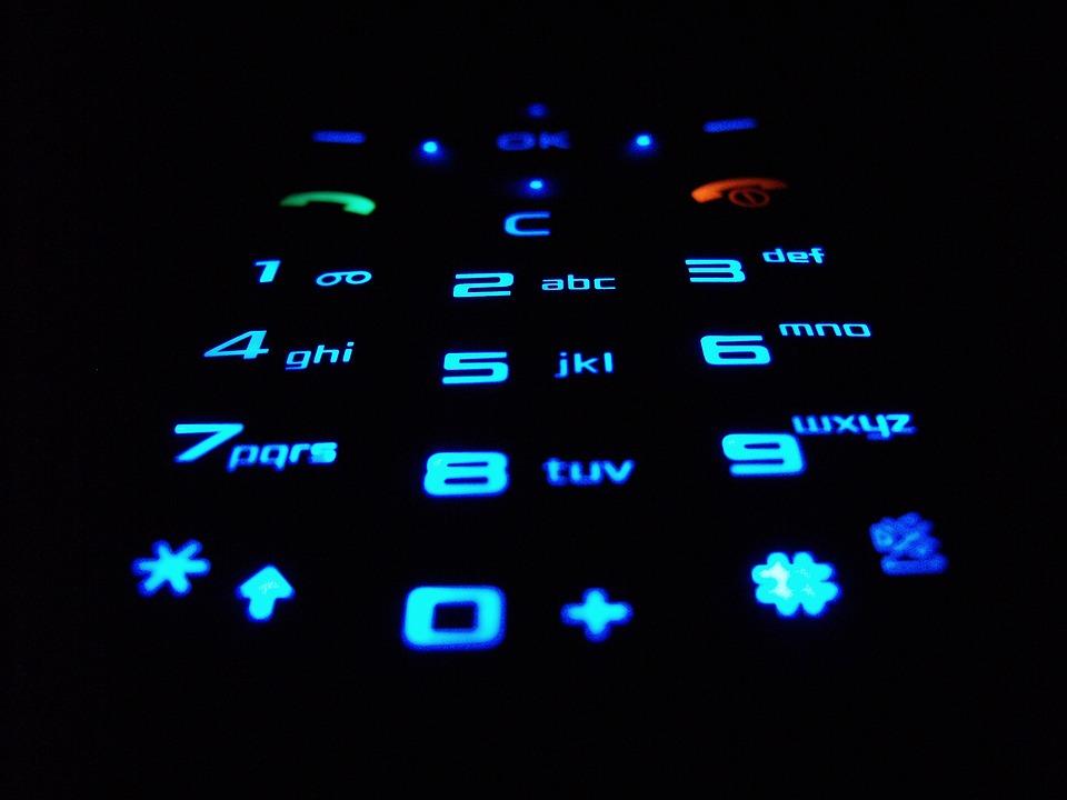 Keyboard, Mobile Phone, Telefonia, Keys, Numbers