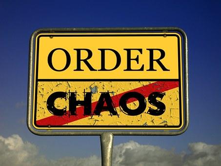 Chaos Regulation Chaos Theory Traffic Sign