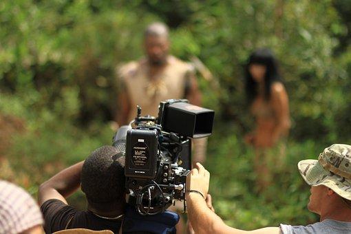 Filmproduktion,  Filmcamera,  Kamera
