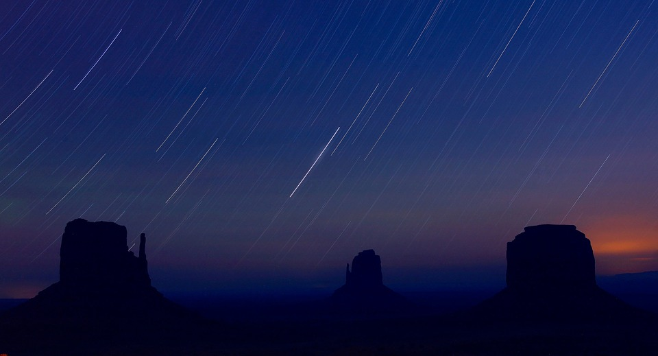 Startrails Monument Valley Night 183 Free Photo On Pixabay