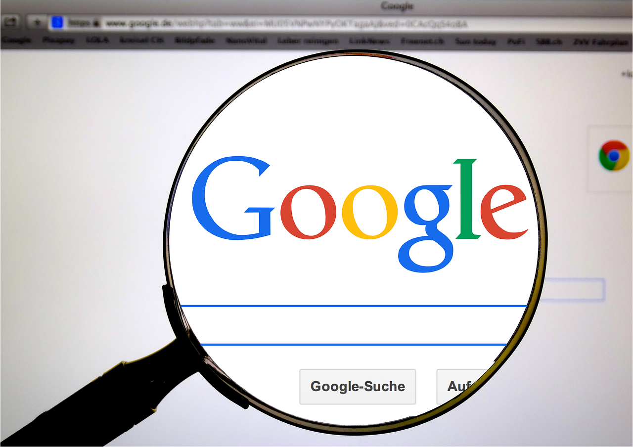 """When you click """"I'm Feeling Lucky"""" with no search terms you can view every Google logo ever."""