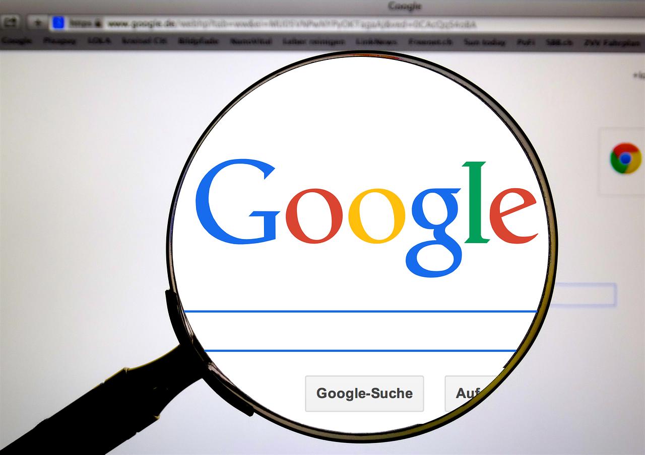 google on microscope