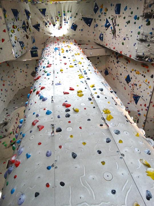 Free photo: Climbing Wall, Climbing Heaven - Free Image on ...