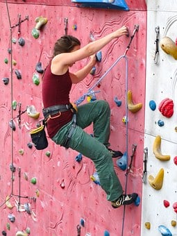 Climber, Woman, Arm Strength, Strong