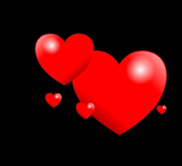 Trái Tim Yêu Valentine Màu - Ảnh miễn phí trên Pixabay
