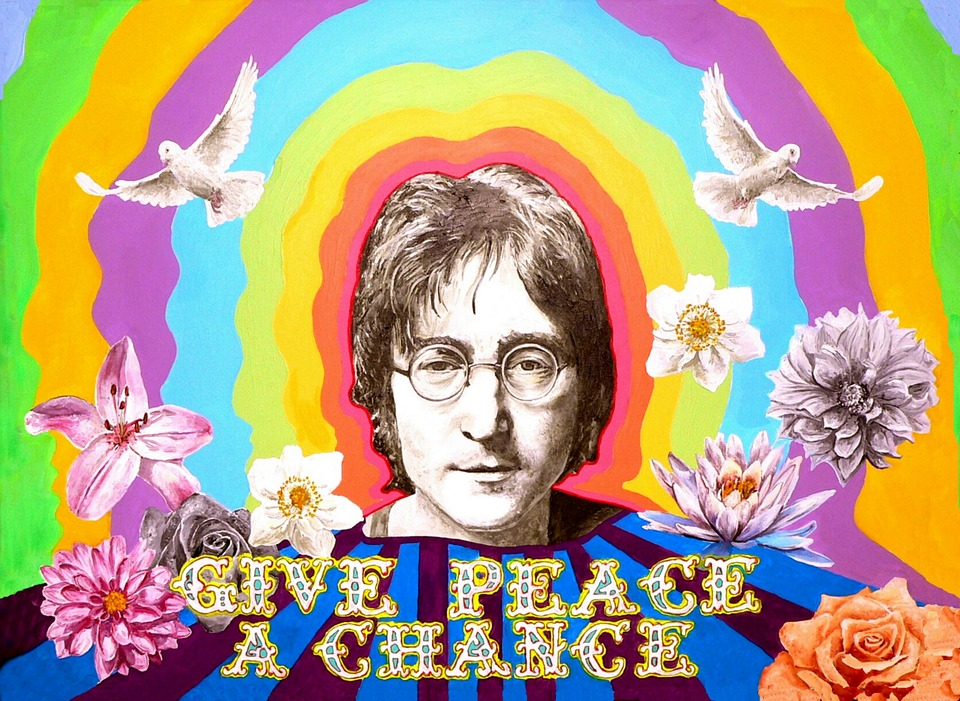 Image result for john lennon imagine poster