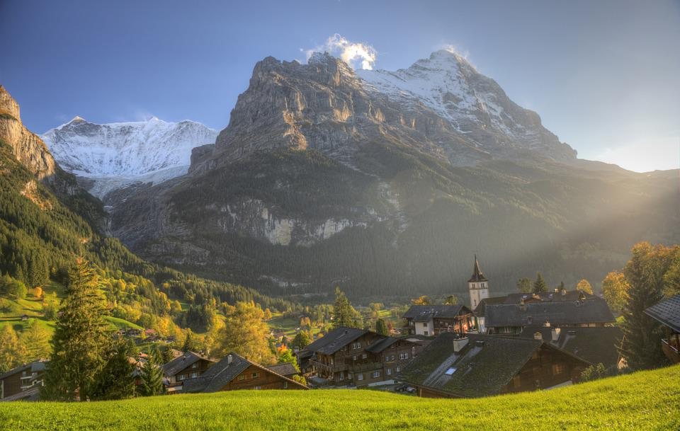 Eiger Grindelwald Village  U00b7 Free Photo On Pixabay