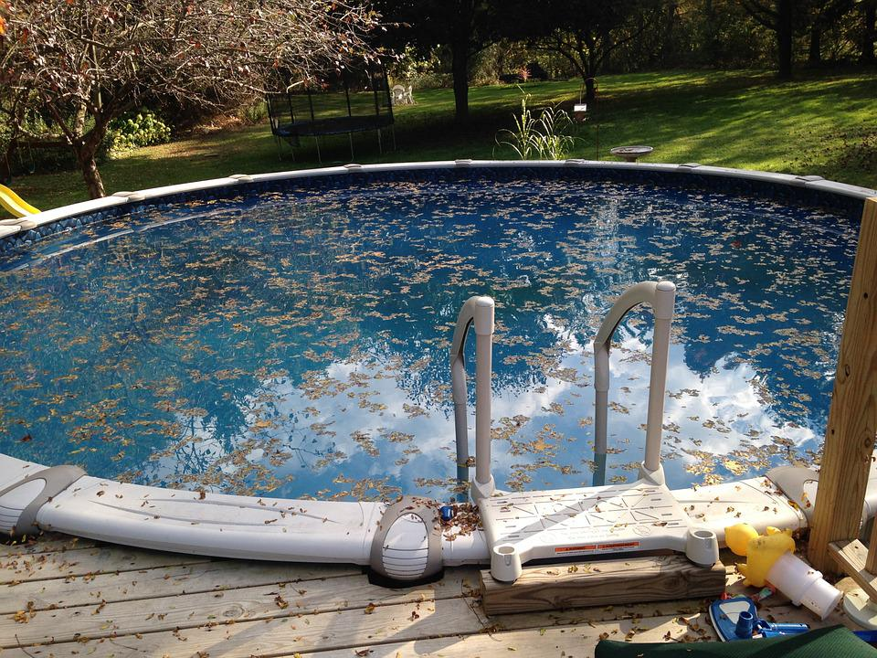 Free photo cleaning leaves pool maintenance free - How to clean a dirty swimming pool ...