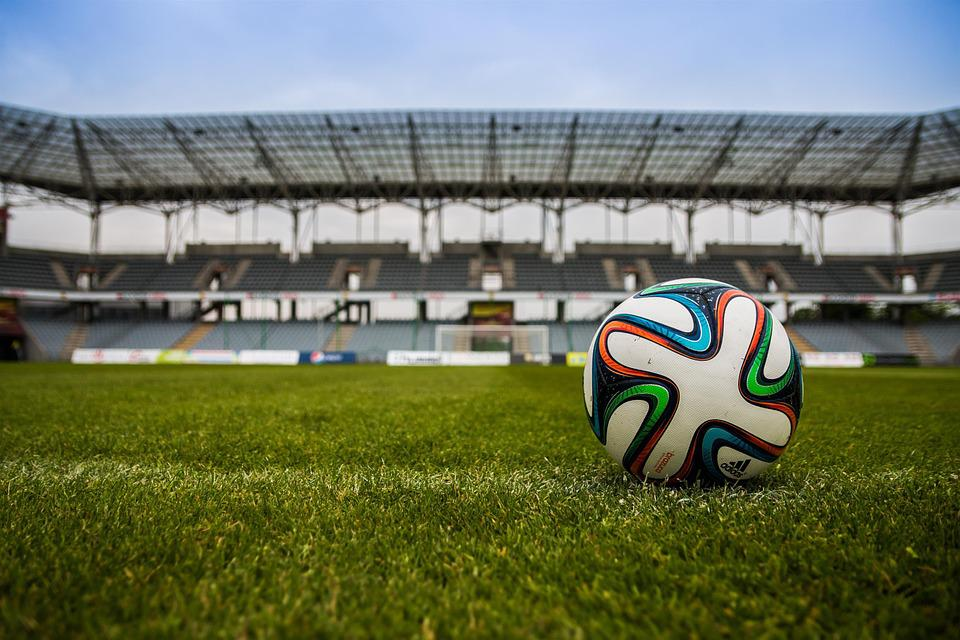 The Ball, Stadion, Football, The Pitch, Grass, Game