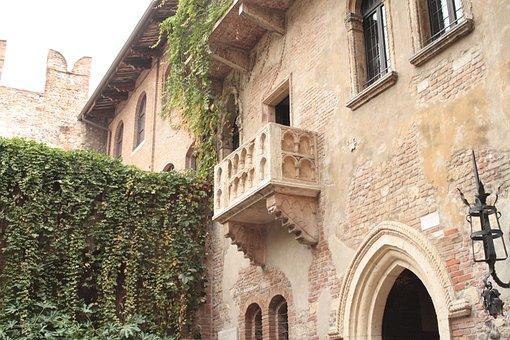 Verona, Balcony, Romeo, Juliet, Art