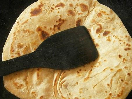 Chapati, Bread, Indian, Pancakes, Food