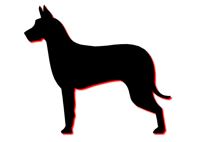 Free Illustration: Dog, Profile, Silhouette, Animal