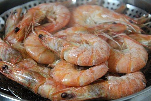 Tender Boiled Shrimp for Recipes
