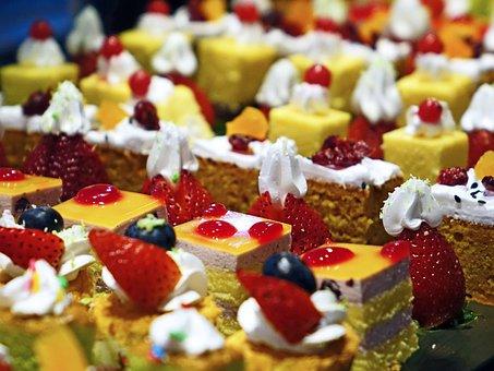ケーキ, クリーム, おいしい, 菓子屋, 食品, 甘い, デザート, 砂糖
