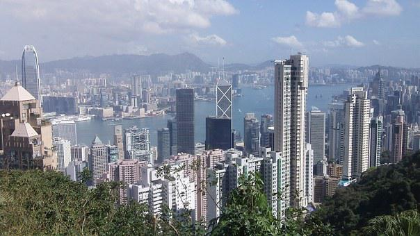 Principales ciudades de Asia Hong Kong China