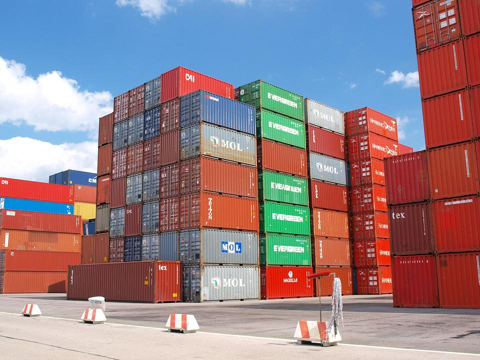 Free photo: Container, Cargo, Freight Harbor - Free Image ...