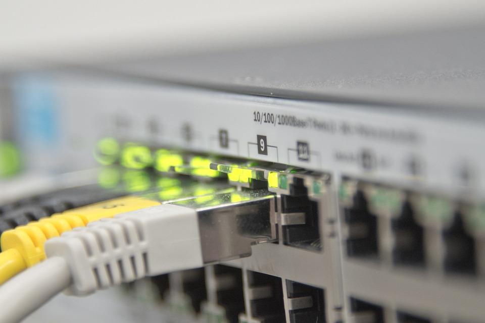 Free Photo Ethernet Switch Network It Free Image On