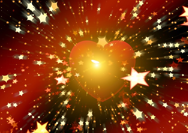 Illustration gratuite coeur star ciel toil sun image gratuite sur pixabay 490800 - Images coeur gratuites ...