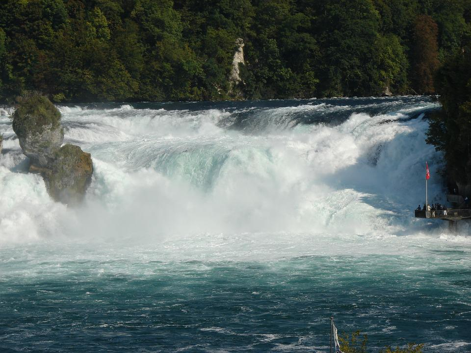 Waterval Rijn Zwitserland.Rheinfall Waterval Rijn Gratis Foto Op Pixabay