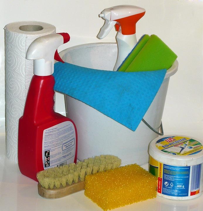 Clean, Make Clean, Cleaning Material, Frühjahrsputz