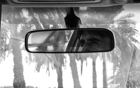 Espejo Retrovisor, Espejo Interior, Auto