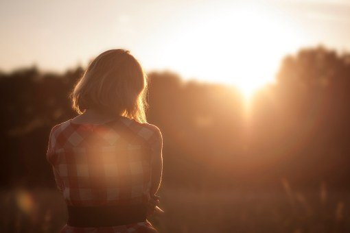 Woman, Person, Sunset, Dreams, Alone