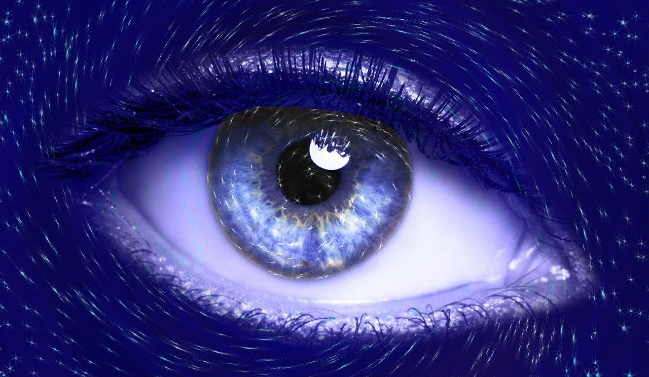 кос картинка глаза неба синего одним первых