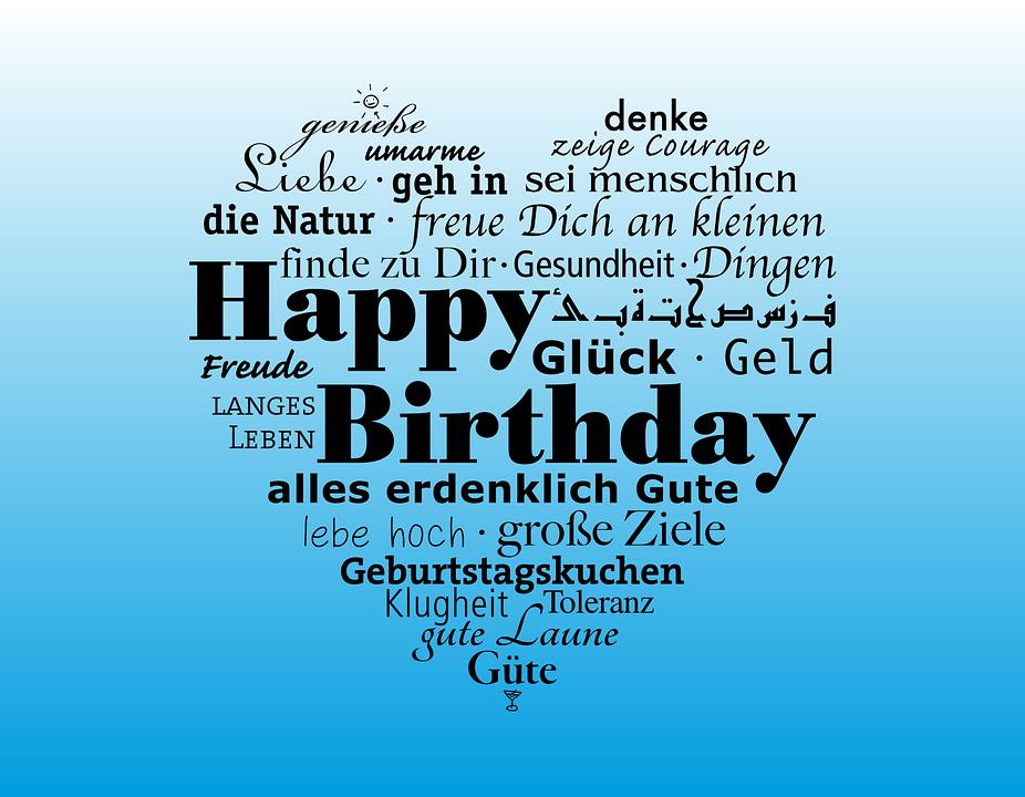 Geburtstag Gluckwunsch Happy Kostenlose Vektorgrafik Auf Pixabay
