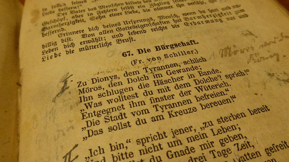Free photo: Book, Poem, Old Book - Free Image on Pixabay - 492300