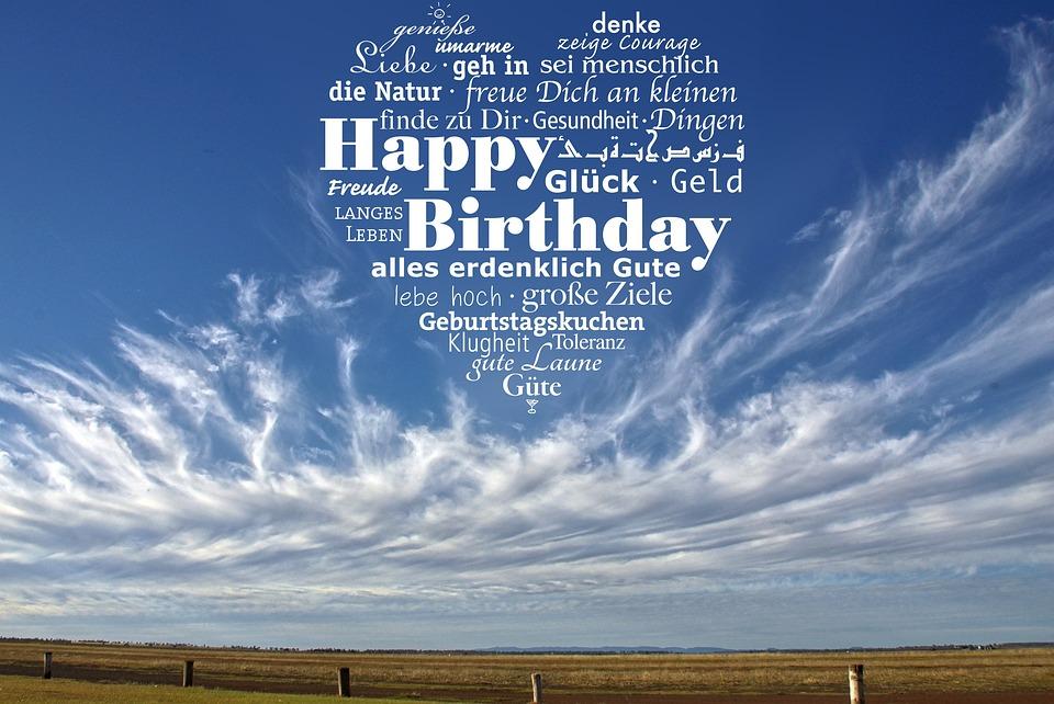 Geburtstag Gluckwunsch Happy Kostenloses Foto Auf Pixabay